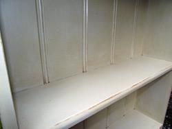 Shabby-chic bookcase