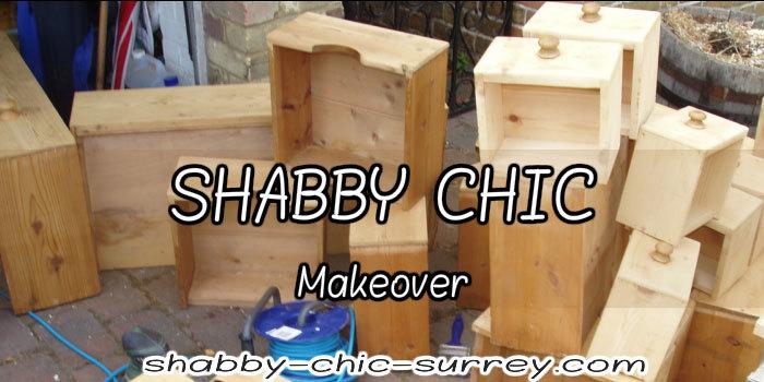 Shabby chic makeover